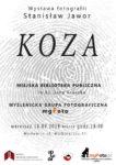 """Wernisaż wystawy """"Koza"""" - Stanisław Jawor - Zaproszenie"""